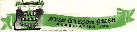 Keep Oregon Green Banner