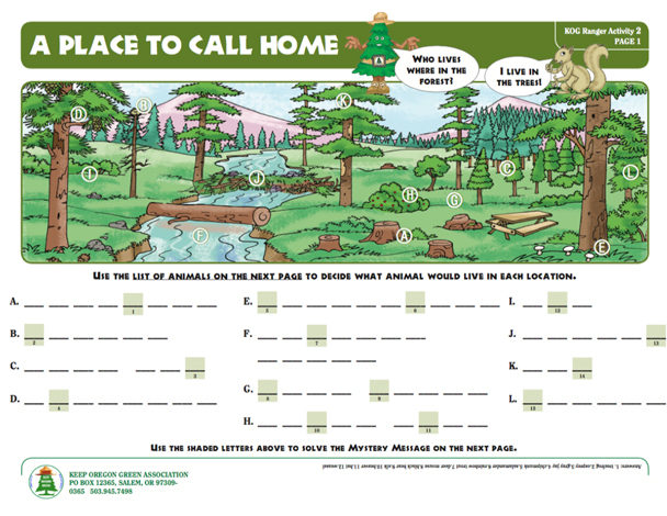 download and/or print out the A Place to Call Home activity sheet