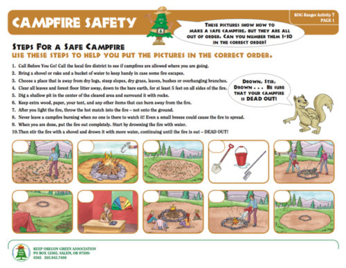 preview of Campfire Safety