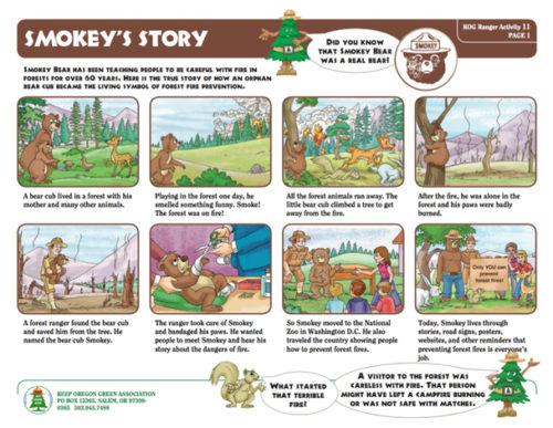 preview of Smokey's Story
