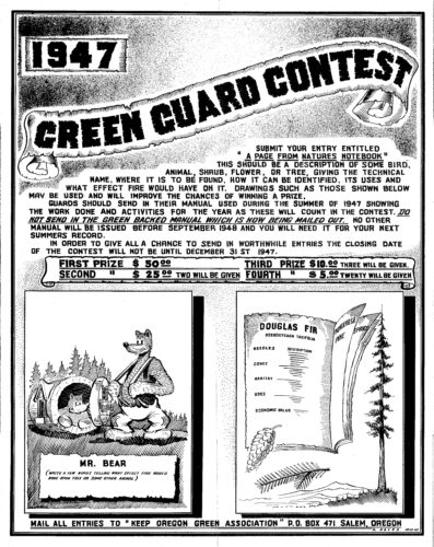 1947 Green Guard Contest