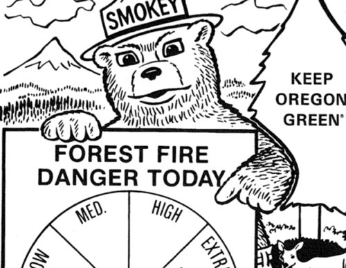 preview of Its Fire Danger Time Again Folks